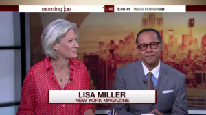 Lisa Discussing Fieldston School's Racism Experiment on Morning Joe